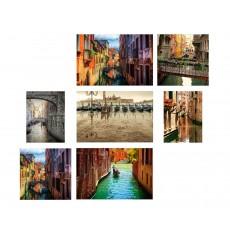 7 Tableaux | composition Venise