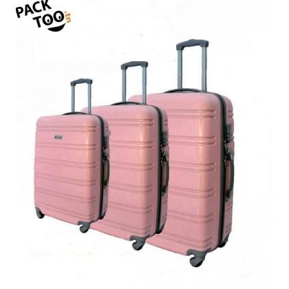 Set de 3 valises coque rigide