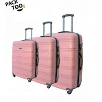 Set de 3 valises coque rigide