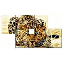 6 Tableaux | composition Tigre