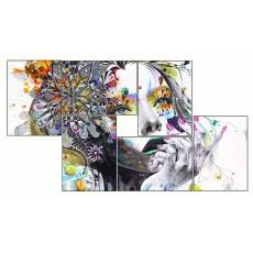 6 Tableaux   composition Femme