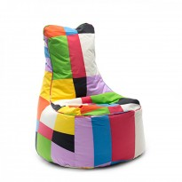Slope multi-couleur - patchwork