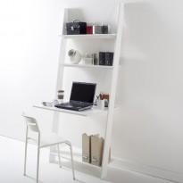 Bureau et étagère échelle  4 tablettes Domeno