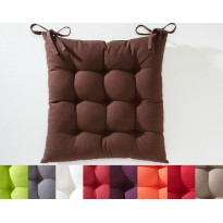 Galettes de chaise carrée  ( lot de 2)
