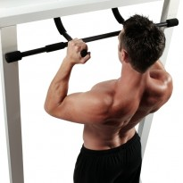 Barre de traction multi-fonctions et multi-prises DOOR GYM