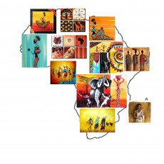 11 Tableaux   composition Africana