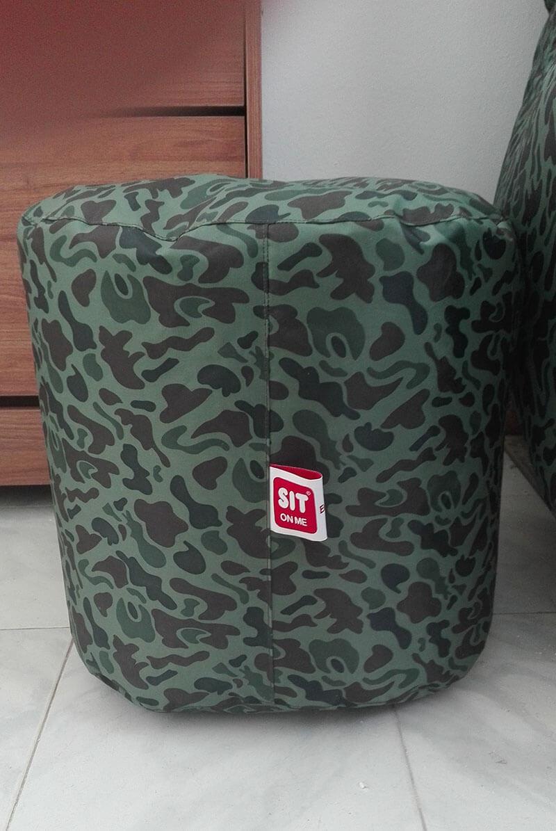 pack pouf slope pouf d 39 appoint design militaire packtoo. Black Bedroom Furniture Sets. Home Design Ideas