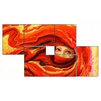 6 Tableaux | composition Voile