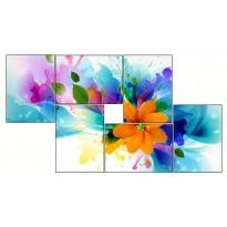 6 Tableaux | composition Fleur