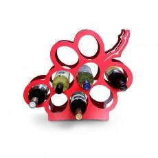 Porte bouteille Design grappe de raisin