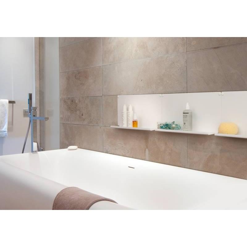 Etag re murale pour salle de bain ou cuisine le packtoo for Etagere murale de cuisine
