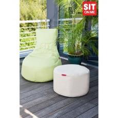 pouf slope + pouf table d'appoint