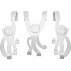 Porte manteau de bain design Monkey