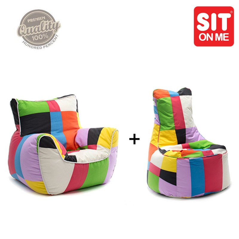 Packtoo slope fauteuil multicolor