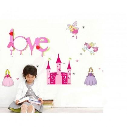 "Porte manteau/ miroir ""Love"""