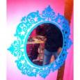 Miroir Baroque rond
