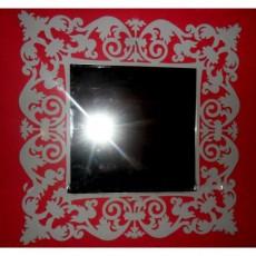 Miroir Baroque carré