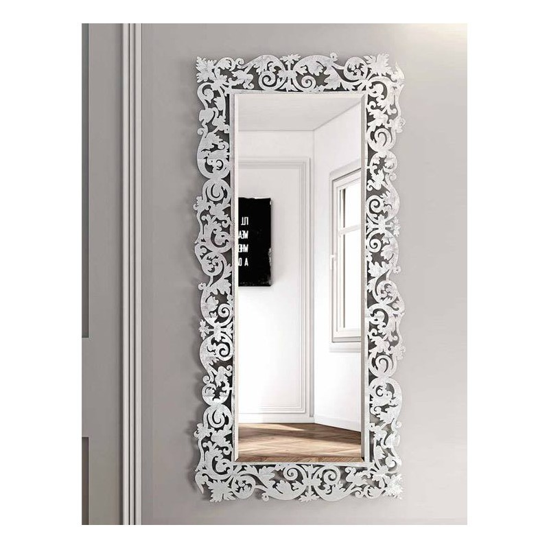 Miroir baroque rectangulaire 2 packtoo for Miroir rectangulaire baroque