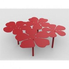 Table basse bouquet Notus