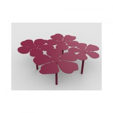 Table basse bouquet Notus XL