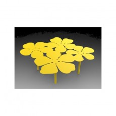 Table basse bouquet Notus XL