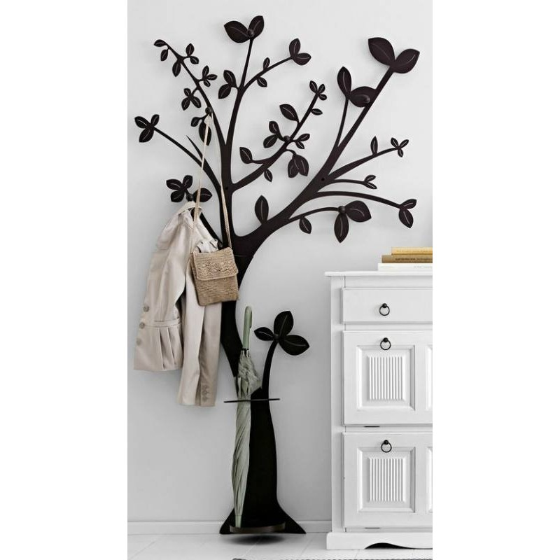 Porte manteau arbre design packtoo - Porte manteau design arbre ...