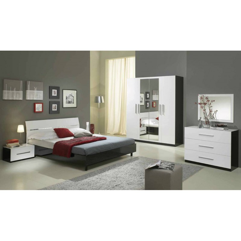 Chambre coucher diament packtoo for Commande chambre a coucher