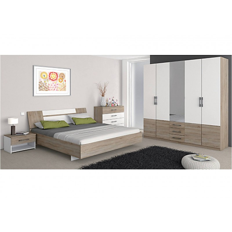 Chambre coucher adele packtoo for Commande chambre a coucher