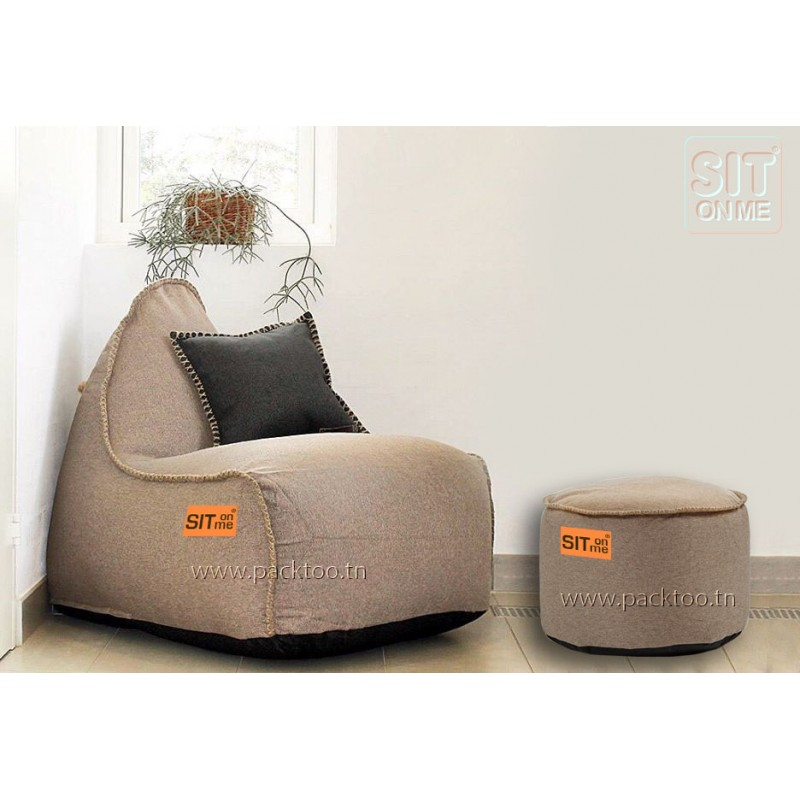 pack pouf scandinave fait main packtoo. Black Bedroom Furniture Sets. Home Design Ideas