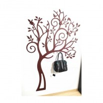 Metal Coat Rack Trastevere (tree design)
