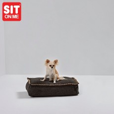 Pouf pour chien - Scandinave -luxe- Fait main .
