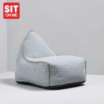 Pouf fauteuil Scandinave- Luxe-Fait main