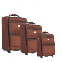 Set of 3 semi-rigid suitcases