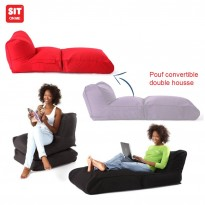 Convertible Removable and Rechargeable Bean Bag