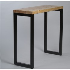 High table industrial 120x60 cm