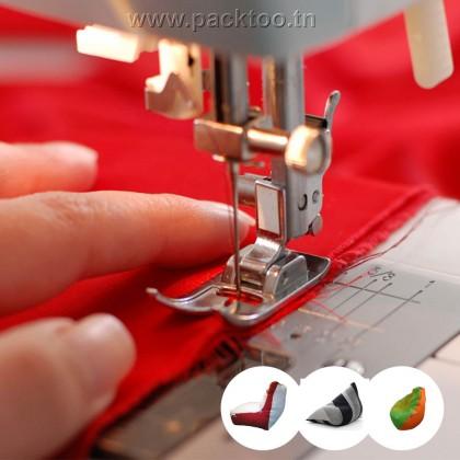 Fabrication de vos poufs / coussins avec votre tissu