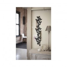 Patère Porte bijoux mural Papillons grand modèle