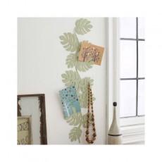 Patère Porte bijoux mural feuilles grand modèle