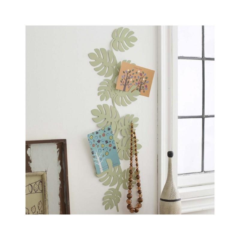 pat re porte bijoux mural feuilles grand mod le packtoo. Black Bedroom Furniture Sets. Home Design Ideas