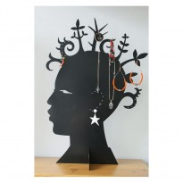 Head-Afro Jewelry Holder