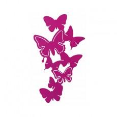 Patère Porte bijoux mural Papillons petit modèle