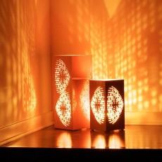 Lanterne décorative en acier