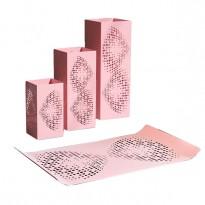 Pack 1 Plateau décoratif + 3 Lanternes décoratives