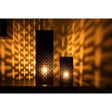 Pack 3 lanternes décoratives + plateau décoratif + horloge mural