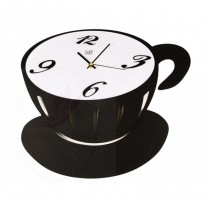 Wall clock cup