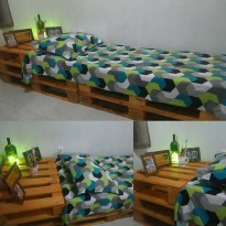 Pallet bed EURO