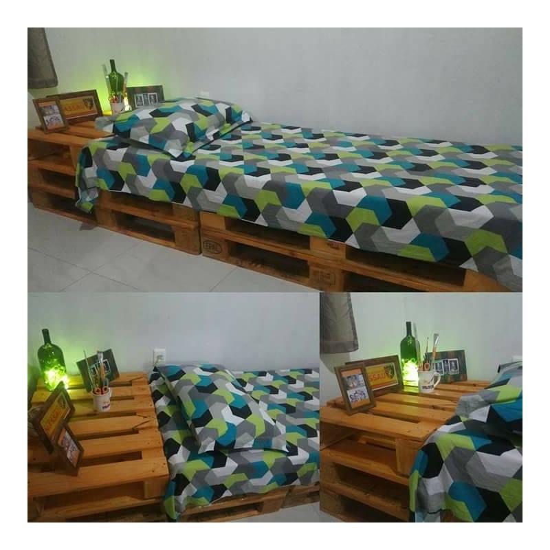 lit en palette euro packtoo. Black Bedroom Furniture Sets. Home Design Ideas