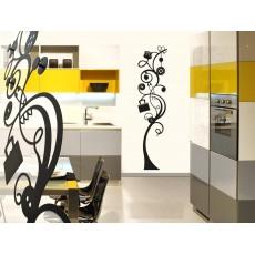 Porte manteau Milano (design fleur)