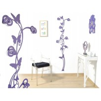 Coat rack Butterfly  (flower design)