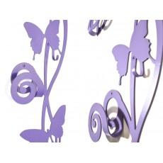 Porte manteau butterfly (design fleur)